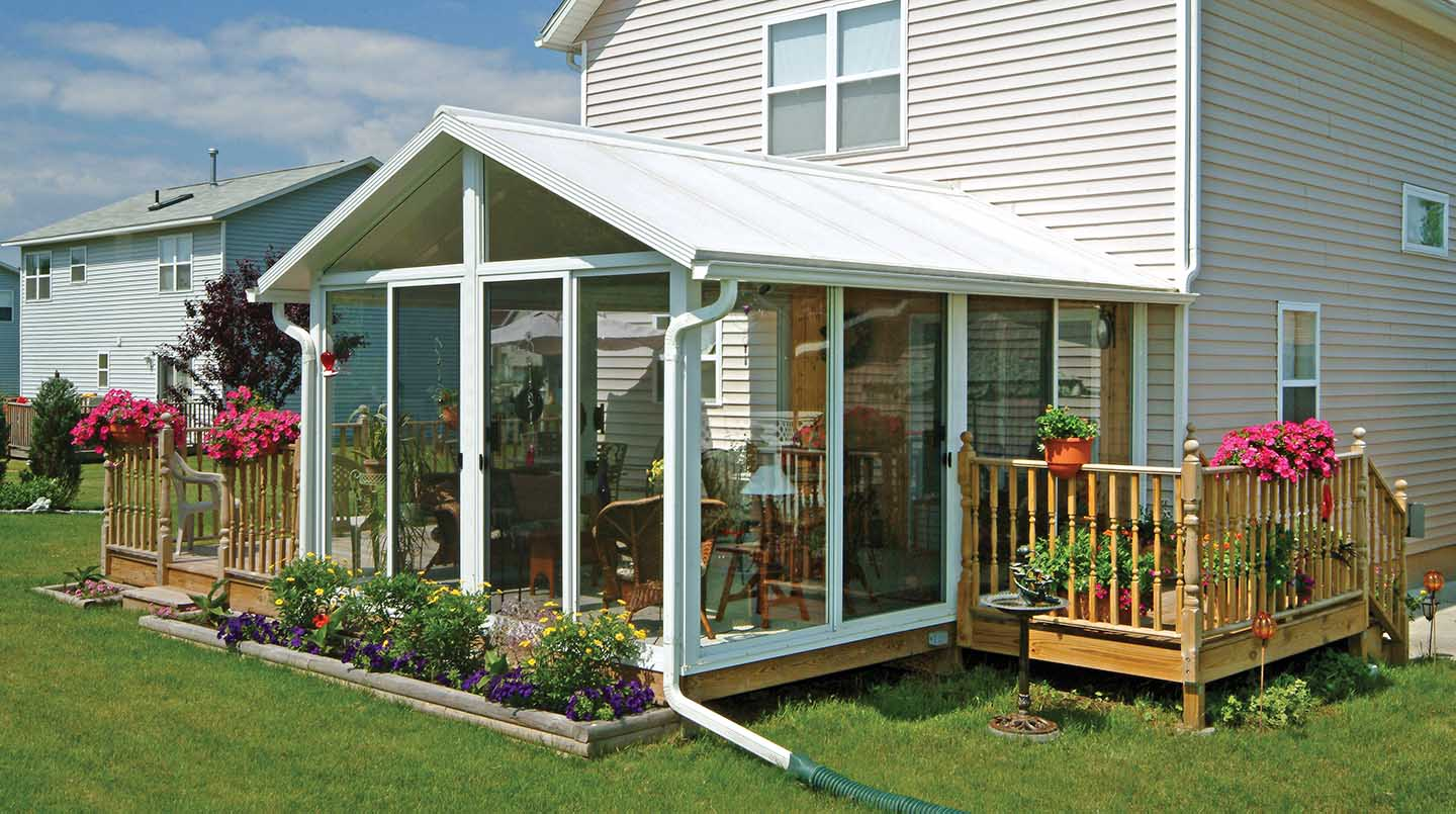 Porch Enclosures Solariums Traditional Sunrooms Sunroom Kits Windows