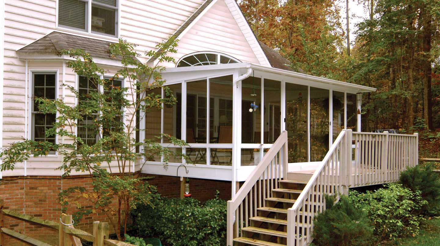 Before & After Sunroom Pictures | Patio Enclosures Projects
