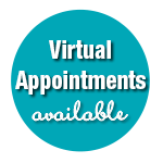 Virtual Appointments Available Now