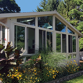 Four Season Sunroom Sandstone Frame