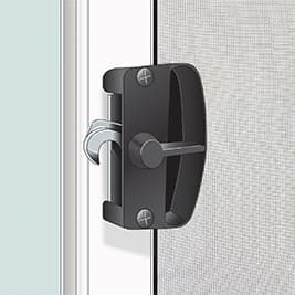 Screen Room - Single-point locking system