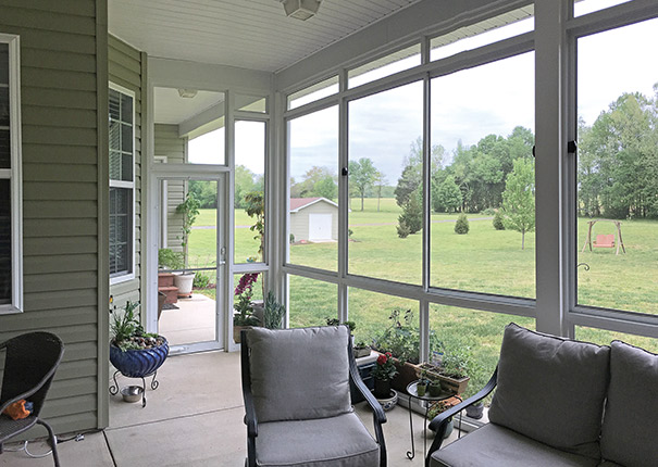 screen room - Outdoor Screened Porches