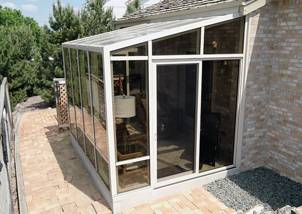 Gentil Patio Enclosures® Solariums Provide Floor To Ceiling Views Of The Outdoors  With Glass Walls And Roofs.