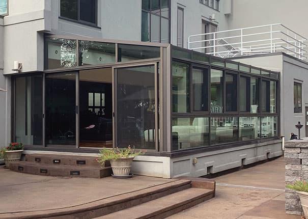 Glass solariums glass rooms spa pool enclosures patio enclosures - Types sunrooms advantages ...