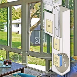 Sunroom - Internal electrical raceway