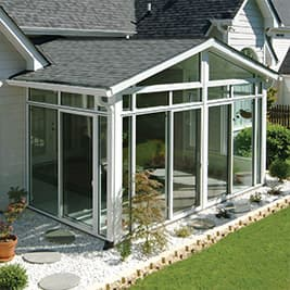 sunroom gable roof