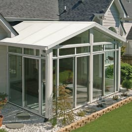 sunroom 3 inch insulated panels