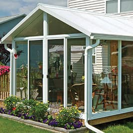 Sunroom kit easyroom diy sunrooms patio enclosures sunroom kit white frame solutioingenieria