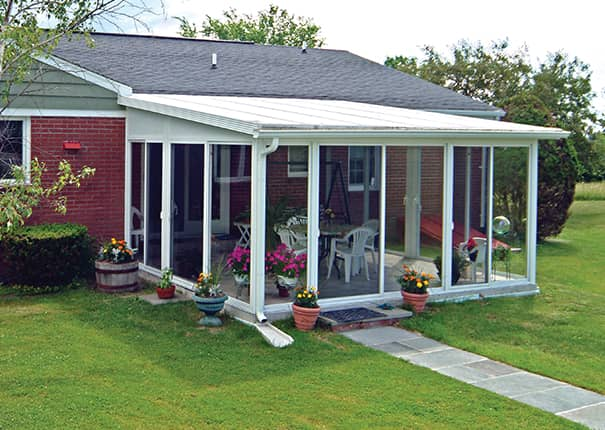 Beau A Patio Enclosures® EasyRoom® Kit Is A Pre Fabricated Sunroom Or Screen Room  Addition That Is Installed By The Homeowner. Designed For The Experienced  ...