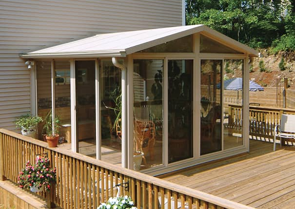 Sunroom Kit Easyroom Diy Sunrooms Patio Enclosures