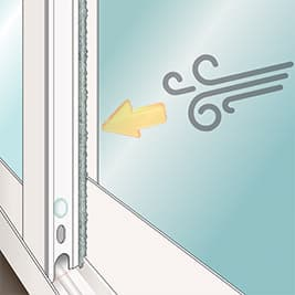 Sunroom weatherlock advanced with interlock sash