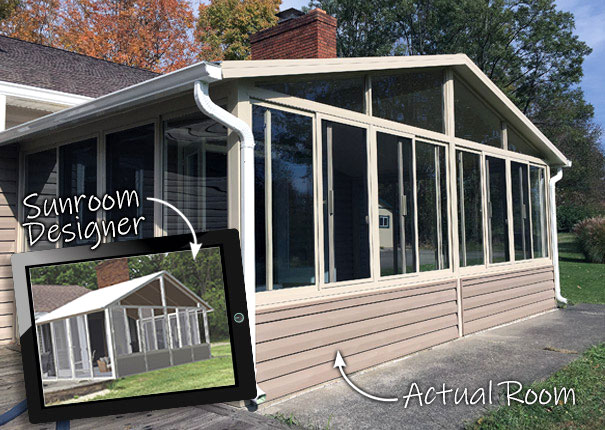 Patio Enclosures Sunroom Designer and 3D Visualizer - Photo 2