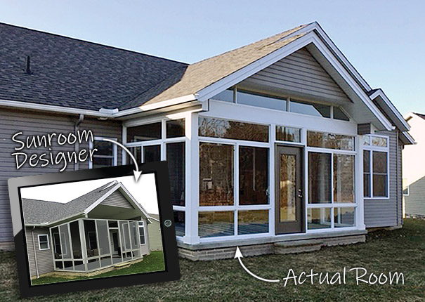Patio Enclosures Sunroom Designer and 3D Visualizer - Photo 5