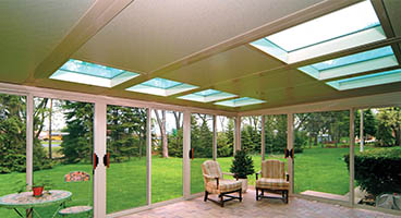 Screen Room Roof Options Glass
