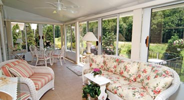 Sunroom Accessory Options