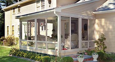 Three Season Sunroom Roof Options Wood