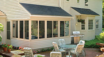 Three Season Sunroom Existing Roof